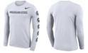 Nike Men's Michigan State Spartans Repeat Logo Long Sleeve T-Shirt