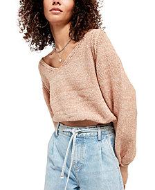 Free People Riptide V-Neck Sweater