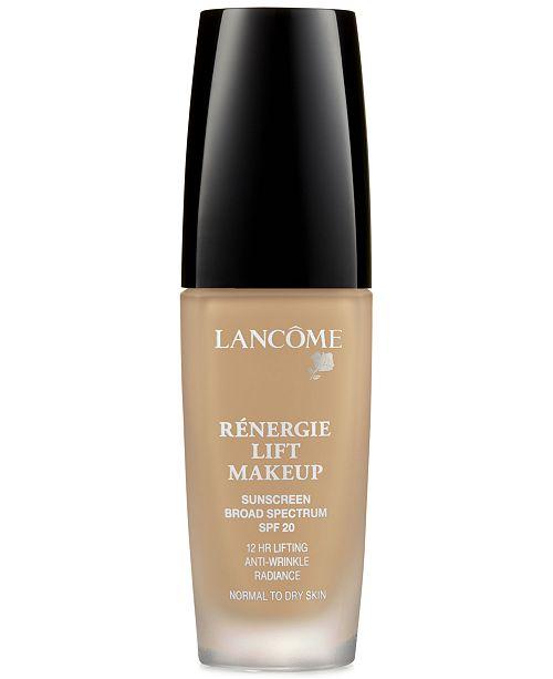 Lancome Rénergie Lift Anti-Wrinkle Lifting Foundation, 1 oz.