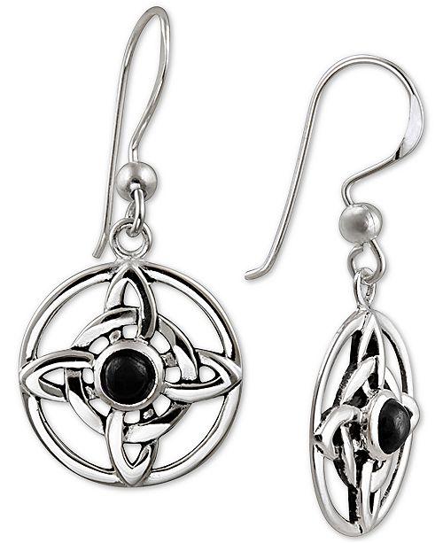 Giani Bernini Drop Earrings in Sterling Silver, Created for Macy's