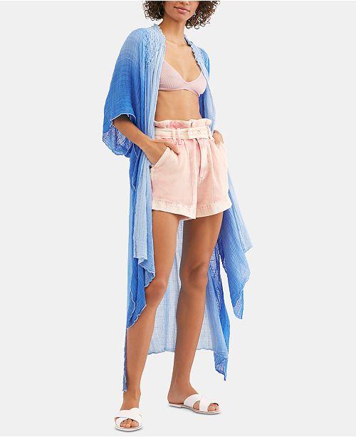 Free People Angelica Dip-Dyed Kimono