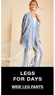 Legs For Days, Wide Leg Pants