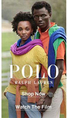 Polo Ralph Lauren, Shop Now, Watch The Film